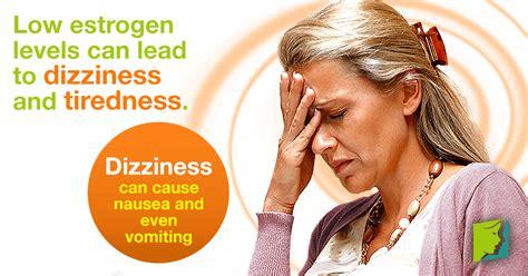 perimenopause symptoms dizziness and vertigo fatigue and dizziness