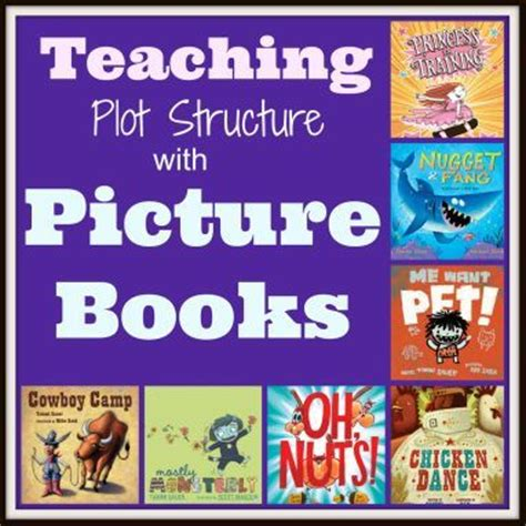 list of picture books to teach theme 17 best images about plot diagram on