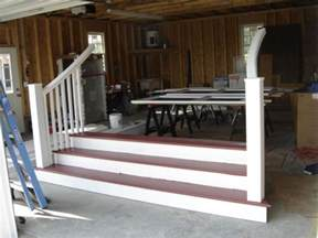 front porch stairway