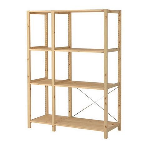 Ikea Shelving Units For Living Room Storage 20 Stylish Eve Ikea Wood Shelves