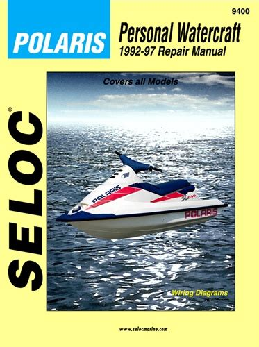 Polaris Jet Ski Manual Sl650 Sl700 Sl750 Sl780