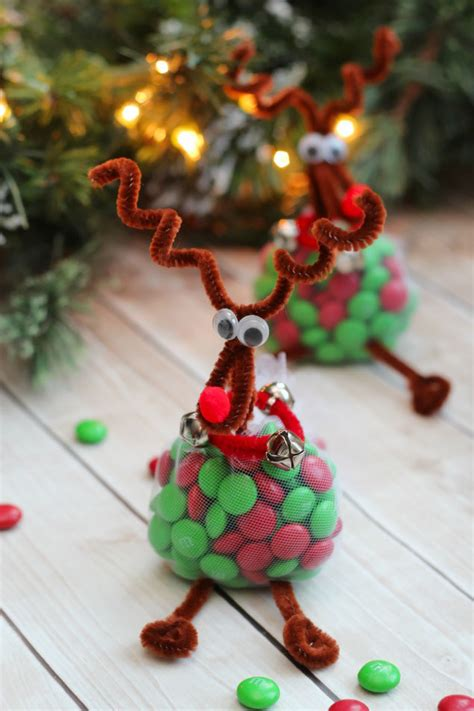 simple craft for christamas celebrationo reindeer treats craft clean and scentsible