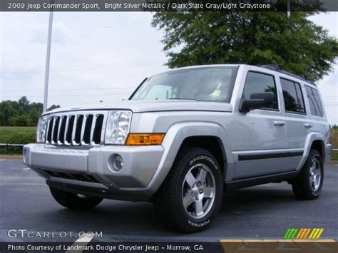 Jeep Commander 2009 Bright Silver Metallic 2009 Jeep Commander Sport