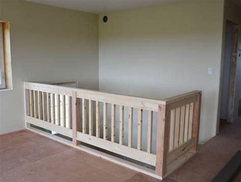 wood handrail plans ana white