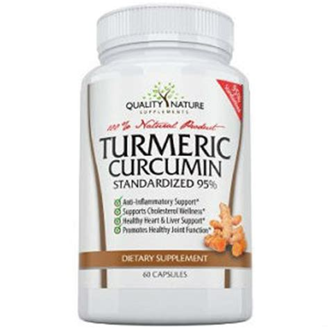 supplement quality ratings quality nature supplements turmeric curcumin review