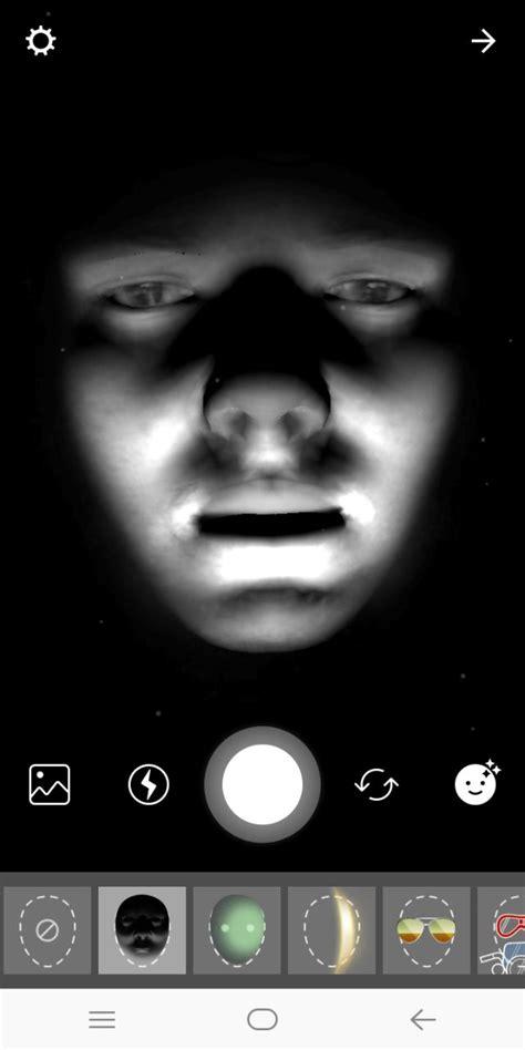 wallpaper hitam seram rayakan halloween instagram bikin filter muka seram telset