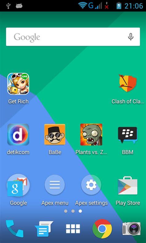 membuat aplikasi launcher android cara membuat tilan launcher seperti di android lollipop