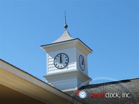 Cupola Tower Cupola Clocks Photo Gallery Americlock