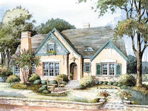 French Country Cottage English Country Cottage House Plans Cottage House Plans