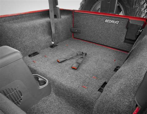 Bedrug Jeep Bedrug And Bedtred Floor And Cargo Liners For Jeep Wrangler