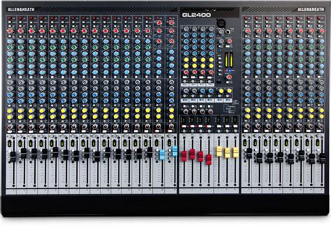Mixer Allen Heath Gl 24 allen heath gl2400 dual function live sound mixer price