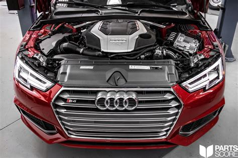audi b9 s4 tune audi b9 s4 h r springs and spacer installation parts score