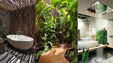 design dapur nuansa alam 15 inspirasi desain kamar mandi outdoor bernuansa alam nan