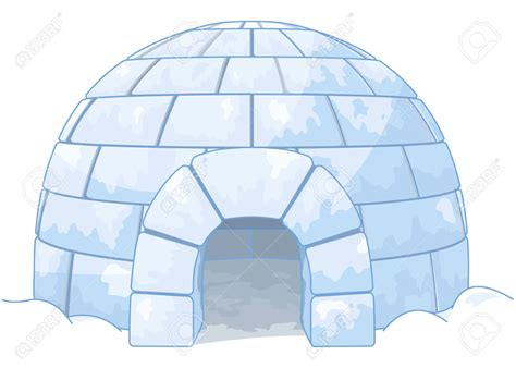 igloo house polar clipart igloo house pencil and in color polar