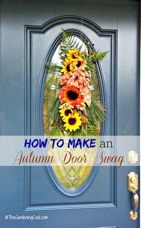autumn door swag