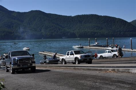 public boat launch smith lake detroit lake state park dedicates winter boat launch will