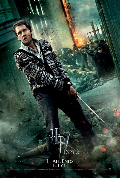 Chappaquiddick Harry Potter Harry Potter Deathly Hallows 2 Poster Neville Longbottom We Are Geeks