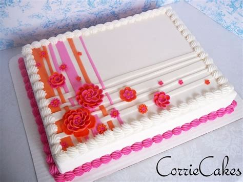 Decorated Sheet Cakes by Wedding Sheet Cake Cakecentral