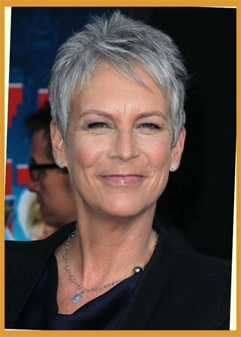 the 17 hottest silver foxes jamie lee curtis lee curtis 2018 popular jamie lee curtis pixie haircuts