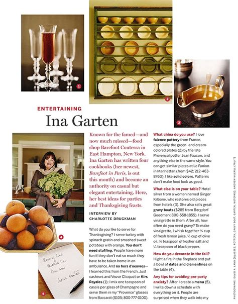 ina garten menus everything about ina is so stylish i love her tips for entertaining ᏰᗋʀᏋƒᎧᎧʈ ᏣᎧɲʈᏋᎦᎦᗋ