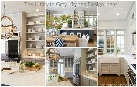 home bunch the ultimate gray kitchen design ideas home bunch