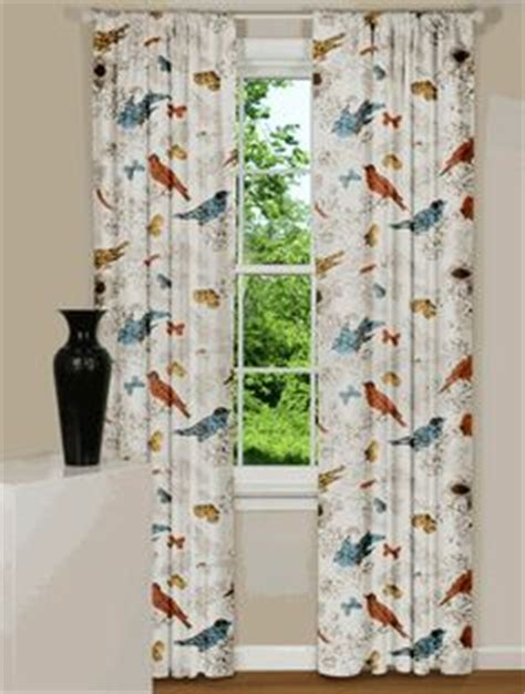 curtains with birds on them window curtains on pinterest zebra bathroom window