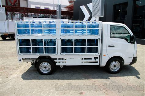 Ambulance Tata Motor Ace tata ace water can carrier at the 2014 indonesia