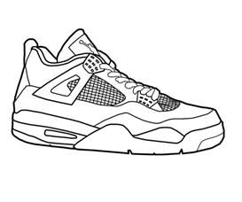 shoe coloring pages how to draw shoes coloring pages