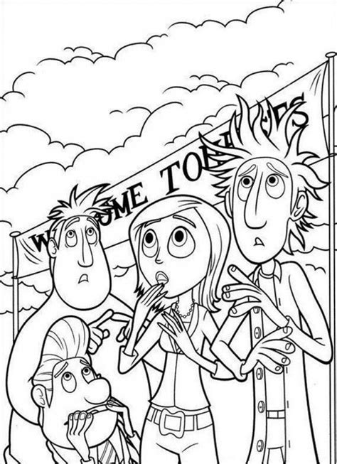 coloring book chance zip cloudy with a chance of meatballs coloring page coloring