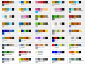 matching color schemes image gallery matching colors