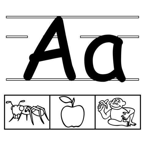 Clip Art: Alphabet Set 00: O Lower Case BW | abcteach Free Black And White Clip Art Letters