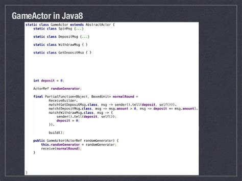 javascript actor pattern take a look at akka java