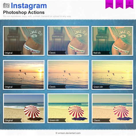 Photoshop Tutorial Instagram Filters   instagram photoshop actions by wnison on deviantart