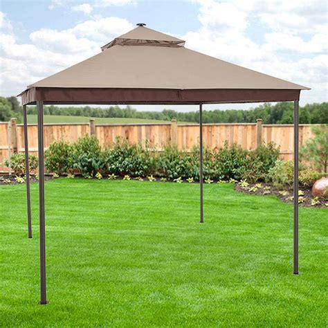 sonoma  solar gazebo replacement canopy riplock