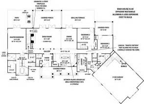 Home Floor Plans 2800 Square Feet Tres Le Fleur 4445 3 Bedrooms And 3 Baths The House