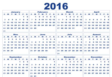 What Calendar Is The Same As 2016 Calendar Zone Free Printable Monthly And Yearly