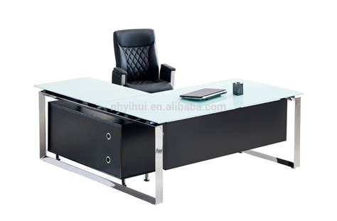 2014 sale office furniture tempered glass executive