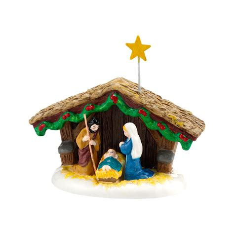 department 56 4030755 snow village nativity