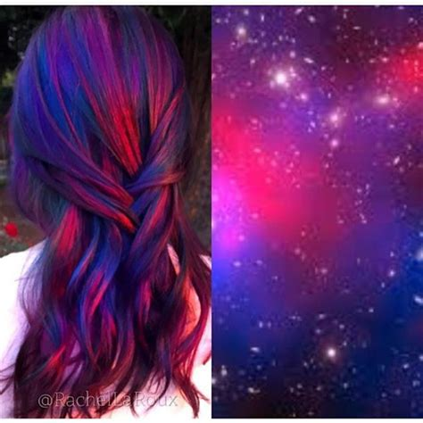 la galaxy colors 20 galaxy hair color ideas the breathtaking vpfashion
