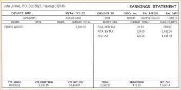 sle of pay stub template free 7 check stub templates timeline template