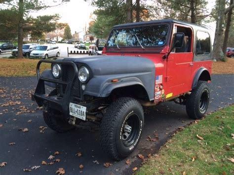 Jeep Cj Project For Sale 1977 Jeep Cj7 Project
