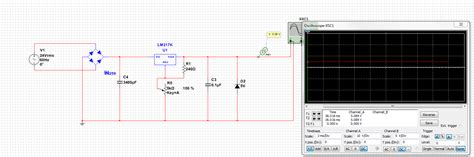 working of zener diode in circuit lm317 what am i missing for this to work zener diode electrical engineering stack exchange