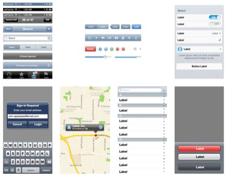 ios design templates free free ios design templates for easy app design with the