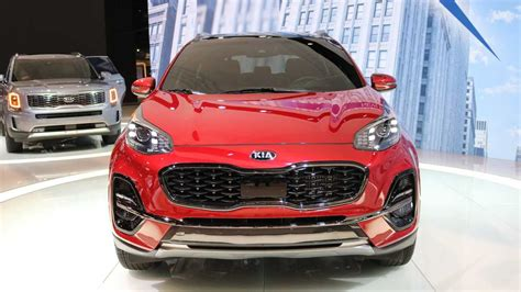 Kia Sportage 2020 Model by 2020 Kia Sportage Debuts In Chicago With Fresh More Tech