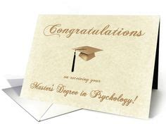 Masters In Psychology With Mba by Congratulations On Receiving Your Mba Degree Gold Cap On