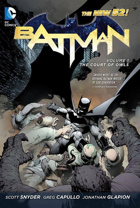 libro batman hc vol 1 libro comic batman vol 1 the court of owls the new 52 pd 700 60 en mercado libre