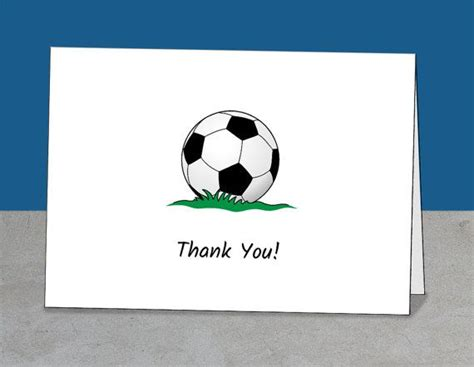 Soccer Thank You Card Template by 38 Best Soccer Coach Thank You Cards Images On