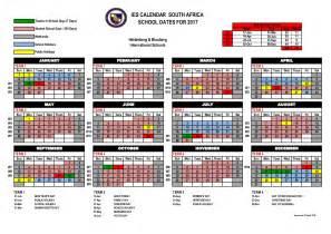 Calendar 2018 Gauteng Guide Sheet For 2017