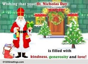 st nicholas day warm wish free st nicholas day ecards