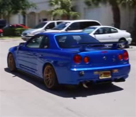 Awesome Nissan Skyline R34 Godzilla Dpccars